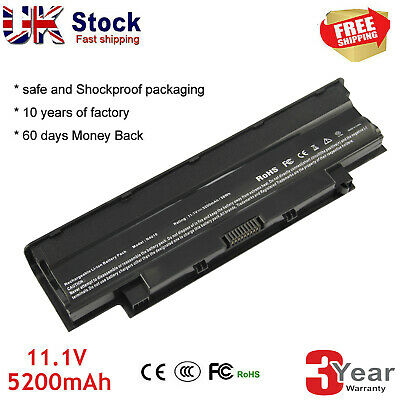 Battery J1KND For DELL Inspiron 3520 3420 M5030 N5110 N5050 N4010 N7110 Laptop C • 12.99£