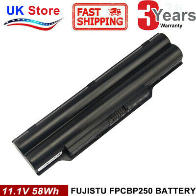 FPCBP250 Battery For Fujitsu LifeBook A530 A531 AH530 AH531 LH520 LH530 LH701 • 12.99£