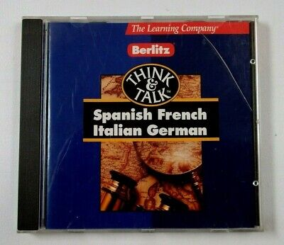 Learn French With Berlitz Cd-rom • 3.50£