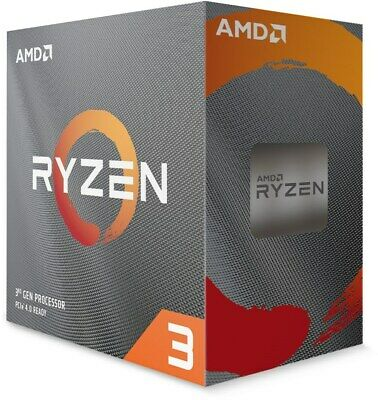 AMD Ryzen 3 3100 3.6GHz Quad Core AM4 CPU  • 108.97£