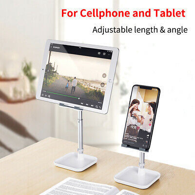 Adjustable Aluminum Alloy Desktop Phone Stand Desk Holder For IPad/iPhone/Tablet • 8.89£