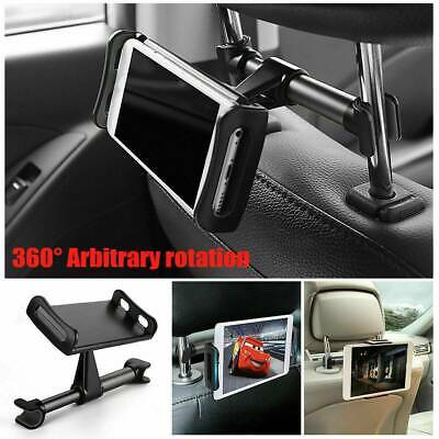 Universal Car Headrest Mount Holder Back Seat For Phone Ipad Tablet Samsung FAM • 6.99£