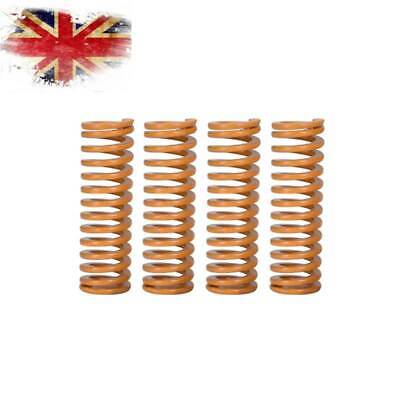4Pcs 3D Printer Springs Creality CR-10 10S S4 Ender 3 Ultimate Upgraded Flat Bed • 2.79£