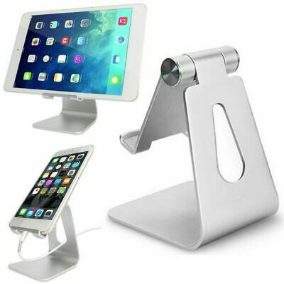 Adjustable Desk Table Stand Holder Mount For IPad Tablet Phone Light Silver UK • 8.25£