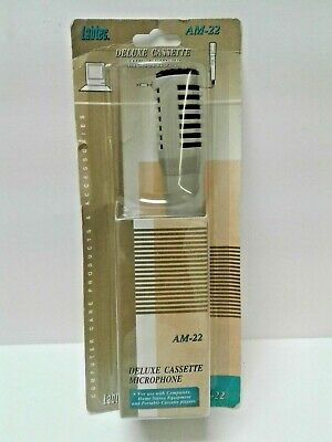 New Labtec Deluxe Cassette Microphone - AM-22 • 12£