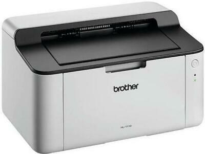 Brother HL-1110 Mono Laser A4 Compact Printer 20ppm 2400x600 Resolution USB • 109.99£