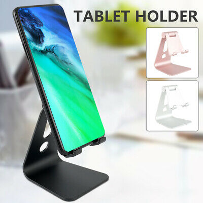 Adjustable Aluminum Desktop Tablet Stand Holder Mount For Mobile Smart Phone UK • 6.39£