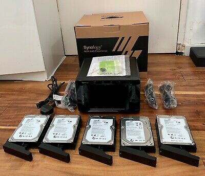 Synology DS 1512+ Diskstation With 5x 2TB Seagate Drives • 349£