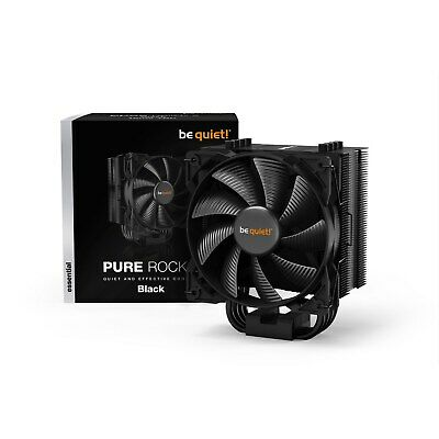 Be Quiet! Pure Rock 2 Black Air Tower CPU Cooler • 38.79£