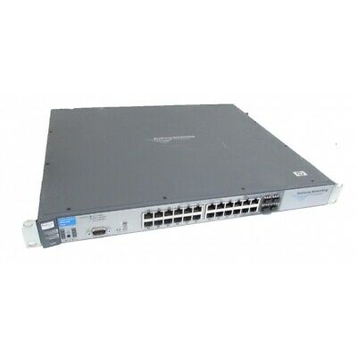 HP ProCurve 2900-24G J9049A 24 Port Gigabit Switch + 5070-4320 10GBE Module • 34.95£