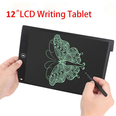 12  LCD Tablet Drawing Writing Board Kid Notepad Writer Digital Graphic Gift Set • 6.59£