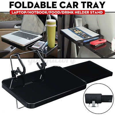 Folding Car Laptop Computer Table Desk Stand Car Steering Wheel Food Tray • 15.99£