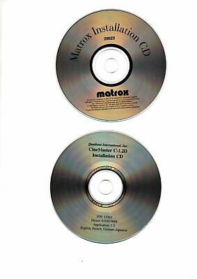 CineMaster & Matrox  CD-ROM Would Make A Good Present For An Enthusiast • 0.99£