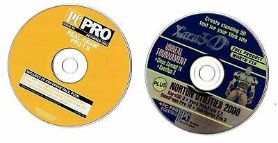 2 X PC  PRO  CD-ROM  For Computer Enthusiast  • 1£