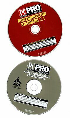 2 X PC  PRO  CD-ROM Computer Discs For Computer Enthusiast  • 1£
