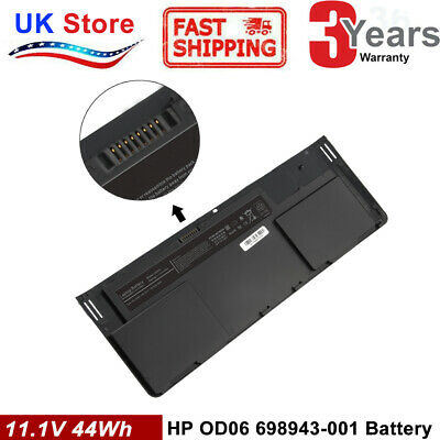44Wh OD06XL Battery For HP EliteBook Revolve 810 G1 G2 G3 698943-001 HSTNN-IB4F • 29.99£