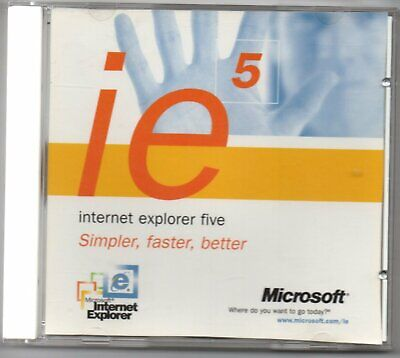 IE 5 Collector's Item CD-ROM • 0.99£