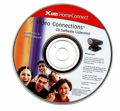 Video Connections 3Com Home Connect CD Software Collection • 0.99£