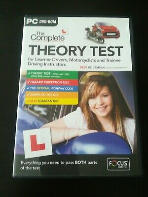 Cd Rom The Complete Theory Test • 1.49£