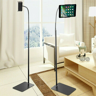 For 5 -10.6  Anti-slip Tablet Floor Stand Extendable Phone Holder Lazy Stand UK • 19.97£