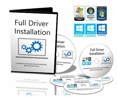 Windows 7,8,10 Drivers For PC's/Laptops Recovery/Restore/Repair/Install Download • 1.99£