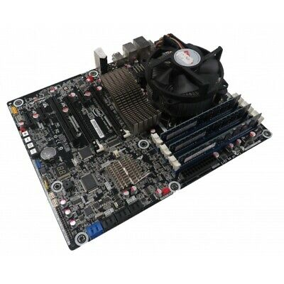 Intel DX58OG Motherboard I7-960 @ 3.2 Ghz,6GB RAM, Heatsink And Fan Bundle • 99.95£