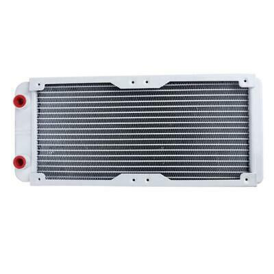 240mm 18 Tube Straight Thread Heat Radiator Exchanger For PC Water Cooling • 15.62£