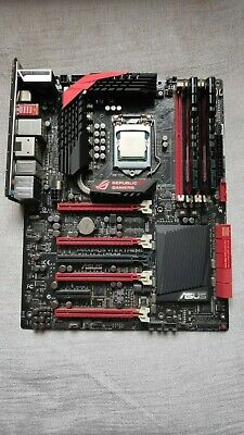 I74770k CPU / ASUS ROG Maximus VI Motherboard / 16GB DDR3 2400mhz / M.2 Adapter • 70£