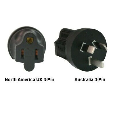 InLine North America US 3-pin To Australia Power Adapter Plug • 20.23£