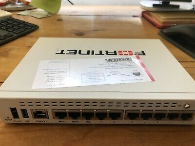 Fortinet Fortigate FG-60E Network Security Firewall Appliance • 130£