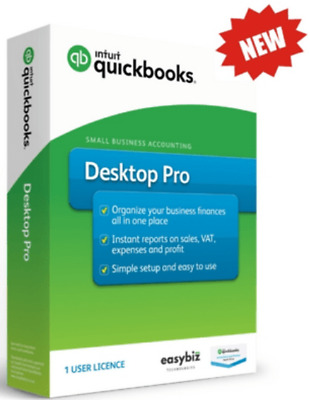 Intuit QuickBooks Desktop PRO 2016 For Windows ✅3 Users✅ ✅ Fast Delivery✅  • 10£