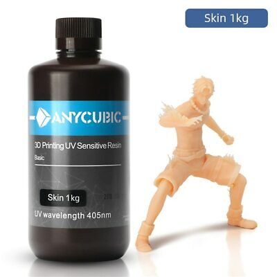 UK ANYCUBIC 1L Skin Color 405nm UV Sensitive Resin For SLA Photon 3D Printer • 22.99£