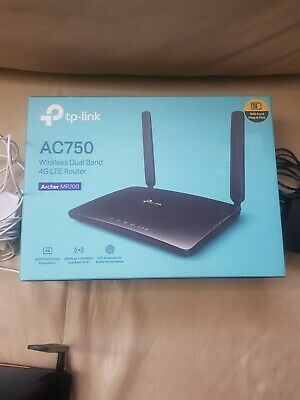 TP-LINK Archer MR200 AC750 Wireless Dual Band 4G LTE Router • 16£