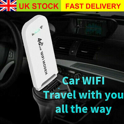 Unlocked 4G LTE WIFI Wireless USB Dongle Stick Mobile Broadband Modem SIM Card • 11.88£
