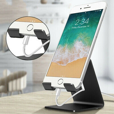 Universal Aluminum Mobile Phone Holder Desk Tablet Stand For IPhone Samsung Ipad • 5.59£