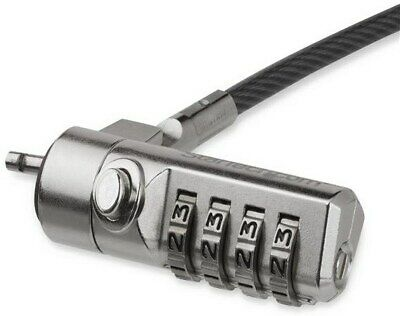 StarTech.com Laptop Cable Lock With Swivel Hinge, 4-Digit Combination Lock • 22.40£