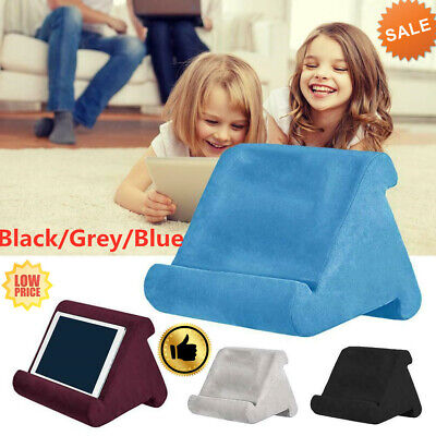 Tablet Pillow Stand For Phone Reader Kindle IPad Books Holder Rest Lap Cushion • 8.69£