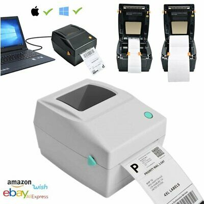 Direct Thermal Print Label Printer 4x6 Inch 150x100mm 6x4 USB Windows Royal Mail • 85.92£