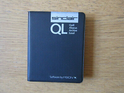 Sinclair QL Software For Psion - 4 Tapes In Wallet - Used • 3.10£