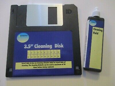 NEW GEMBIRD 3.5  Floppy Disc Drive Head Cleaning Kit (disk Drive Cleaner) PC • 28£