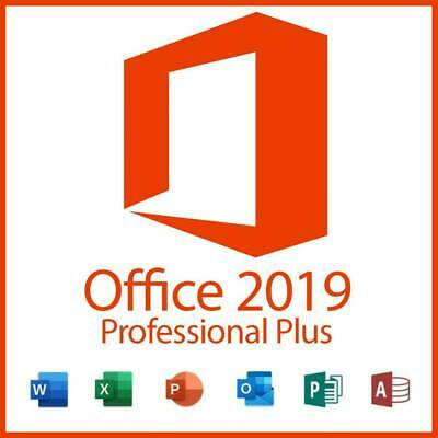 Microsoft Office 2019 Professional Plus Offical Key Code - Instant Delivery • 5.49£