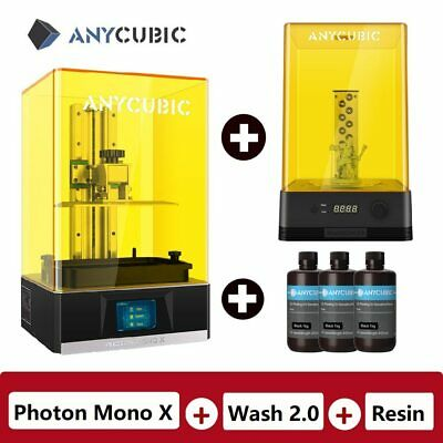 2020 New Anycubic Photon Mono X 3D Printer 8.9″ 4K LCD Large Size Fast Printing • 779£