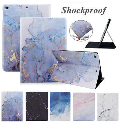 Marble Smart Stand Folio Case For Apple IPad 8th Generation 2020 10.2 7th 2019 • 10.99£
