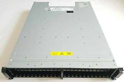 "Working IBM STORWIZE 00AR028 2076-224 V7000 2U 2.5"" Storage Expansion Enclosure • 100£"