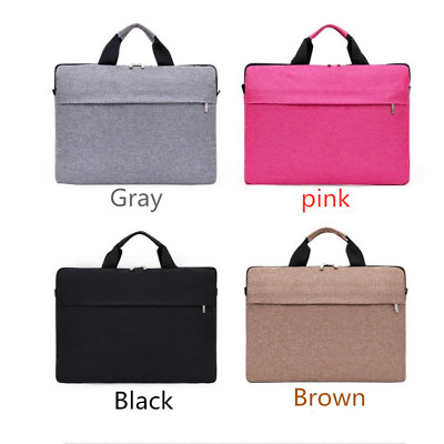 13/14inch Laptop PC Waterproof Shoulder Bag Carrying Soft Notebook Case Cover UK • 9.99£