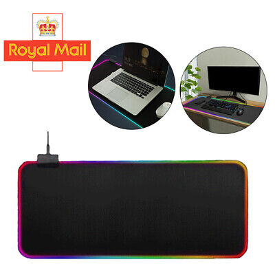 80x30cm Extra Large XL Size Anti-Slip Gaming Mouse Pad Mat For PC Laptop Macbook • 6.09£