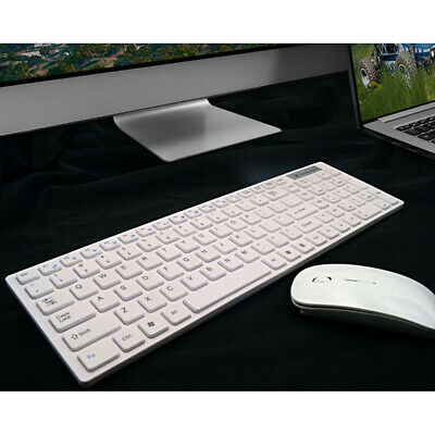 2.4G Wireless Keyboard And Cordless Mouse Set For PC Latptop Desktop Apple Mac • 17.99£