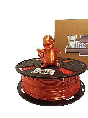 Filas_3d PLA Silk Filament 1.75mm,1 Kg - Orange • 18£