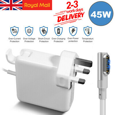 60W Magnetic Power Adapter Charger For Apple MacBook Air Mag Safe 1 L-Tip 11&13 • 14.99£