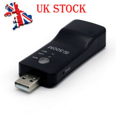 Wireless LAN Adapter WiFi Dongle RJ-45 Ethernet Cable For Samsung Smart TV 3Q UK • 8.69£